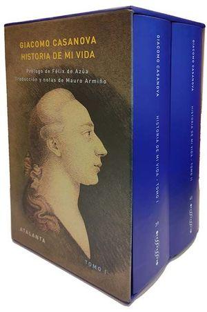 HISTORIA DE MI VIDA ( ESTUCHE 2 VOLS. )