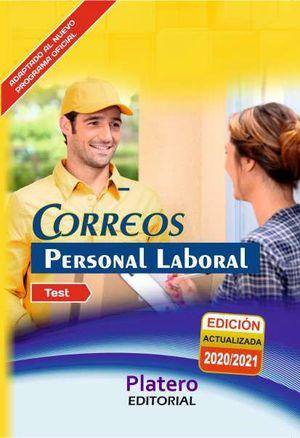 PERSONAL LABORAL DE CORREOS - TEST DEL TEMARIO