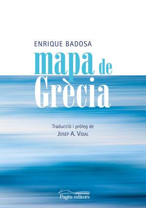 MAPA DE GRÈCIA (CATALÀ)