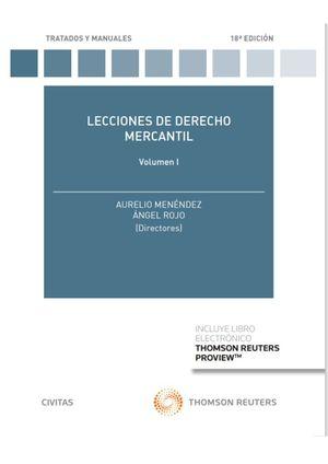 LECCIONES DE DERECHO MERCANTIL VOL. I  (PAPEL + E-BOOK)
