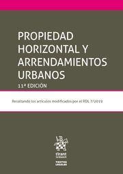 PROPIEDAD HORIZONTAL Y ARRENDAMIENTOS URBANOS (11ªEDICIÓN)