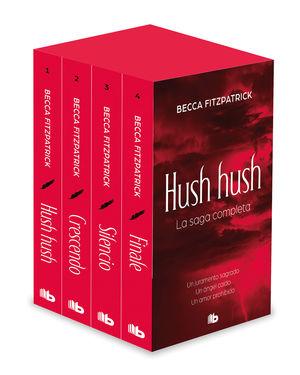 ESTUCHE HUSH HUSH ( 4 VOLS. )