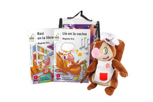 PACK DE RASI CHEF ( 2 LIBROS + ARDILLA PELUCHE )
