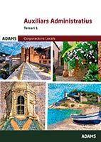 AUXILIARS ADMINISTRATIUS CORPORACIONS LOCALS - TEMARI 1