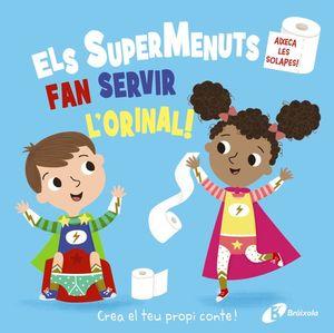 SUPERMENUTS FAN SERVIR L'ORINAL, ELS