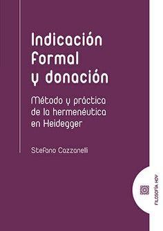 INDICACION FORMAL Y DONACION