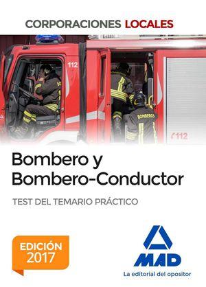 BOMBERO Y BOMBERO-CONDUCTOR. TEST DEL TEMARIO PRÁCTICO