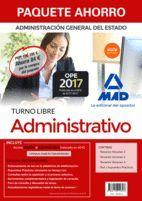 PAQUETE AHORRO ADMINISTRATIVO ADMINISTRACION DEL ESTADO TURNO LIBRE