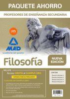 PAQUETE AHORRO FILOSOFÍA CUERPO DE PROFESORES DE ENSEÑANZA SECUNDARIA (4 VOLS.)