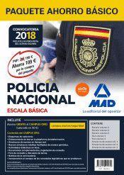 PAQUETE AHORRO BÁSICO ESCALA BÁSICA POLICÍA NACIONAL 2018. AHOR