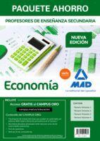 PAQUETE AHORRO ECONOMÍA. CUERPO DE PROFESORES DE ENSEÑANZA SECUNDARIA (4 VOLS.)