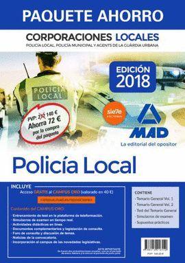 PAQUETE AHORRO POLICÍA LOCAL DE CORPORACIONES LOCALES.