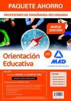 PAQUETE AHORRO ORIENTACIÓN EDUCATIVA CUERPO DE PROFESORES DE ENSEÑANZA SECUNDARIA