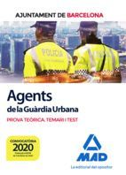 AGENTS DE LA GUÀRDIA URBANA. PROVA TEÒRICA TEMARI I TEST