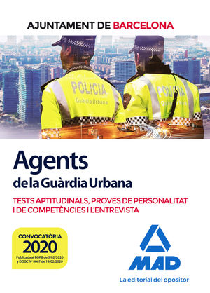 AGENTS DE LA GUÀRDIA URBANA DE L'AJUNTAMENT DE BARCELONA. TESTS APTITUDINALS, PR