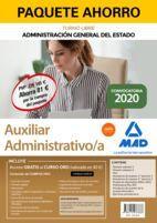 PAQUETE AHORRO AUXILIAR ADMINISTRATIVO DE LA ADMINISTRACIÓN GENERAL DEL ESTADO.