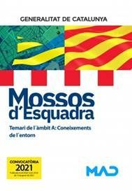 MOSSOS D'ESQUADRA - TEMARI DE L´ÀMBIT A CONEIXEMENTS DE L'ENTORN