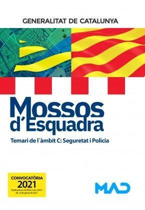 MOSSOS D`ESQUADRA - TEMARI DE L´ÀMBIT C: SEGURETAT I POLICIA