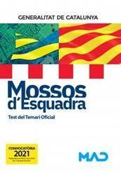 MOSSOS D'ESQUADRA - TEST DEL TEMARI OFICIAL