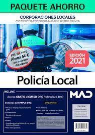 2021 PAQUETE AHORRO POLICIA LOCAL DE CORPORACIONES LOCALES