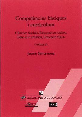 COMPETENCIES BASIQUES I CURRICULUM - VOL.2