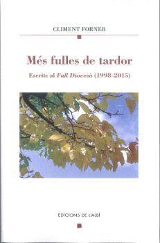 MÉS FULLES DE TARDOR