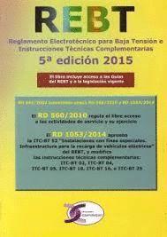 REGLAMENTO ELECTROTECNICO PARA BAJA TENSION E INSTRUCCIONES TECNICAS COMPLEMENTARIAS