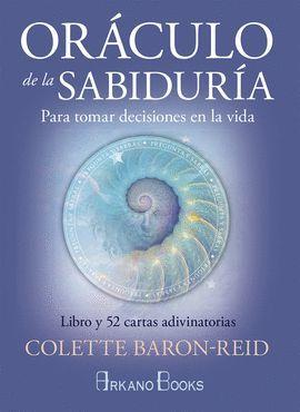ORÁCULO DE LA SABIDURÍA  ( LIBRO Y 52 CARTAS ADIVINATORIAS )