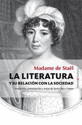 LITERATURA Y SU RELACIÓN CON LA SOCIEDAD, LA