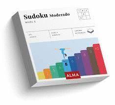 SUDOKU MODERADO (CUADRADOS DE DIVERSIÓN)