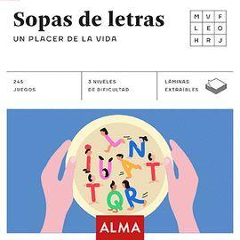 SOPAS DE LETRAS: UN PLACER DE LA VIDA