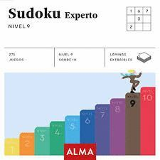 SUDOKU EXPERTO (CUADRADOS DE DIVERSIÓN)