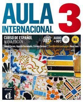 AULA INTERNACIONAL 3 LIBRO ALUMNO + MP3