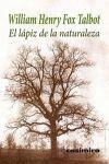 LÁPIZ DE LA NATURALEZA, EL