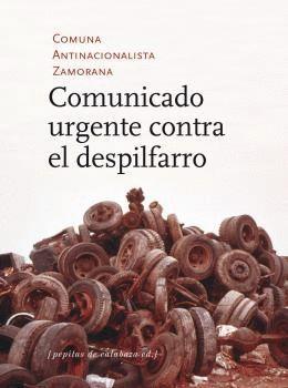 COMUNICADO URGENTE CONTRA EL DESPILFARRO