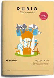RUBIO VACANCES 4 PRIMARIA