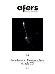 POPULISME EN L'EXTREMA DRETA AL SEGLE XX