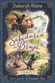 SABIDURÍA DE BRUJA - TAROT ( PACK 78 CARTAS Y UN MANUAL )
