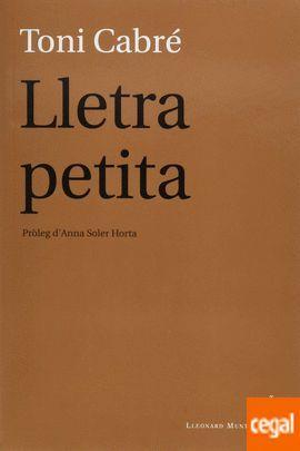 LLETRA PETITA