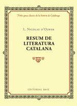 RESUM DE LITERATURA CATALANA