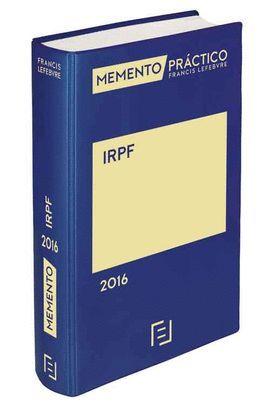 MEMENTO PRÁCTICO IRPF 2016