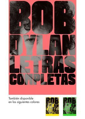 LETRAS COMPLETAS - BOB DYLAN