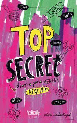 TOP SECRET DIARIO PARA MENTES CREATIVAS
