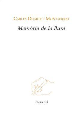 MEMÒRIA DE LA LLUM