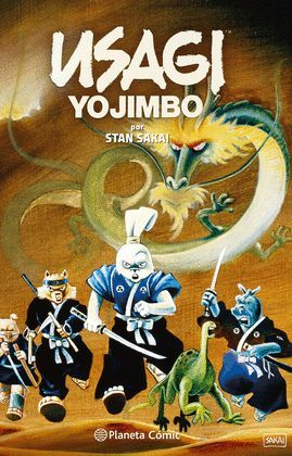 USAGI YOJIMBO FANTAGRAPHICS COLLECTION Nº 01/02