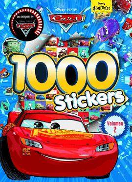 CARS (1000 STICKERS) VOLUMEN 2