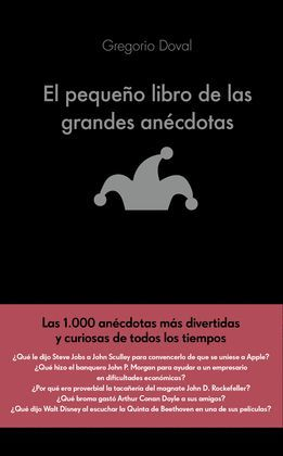 PEQUEÑO LIBRO DE LAS GRANDES ANECDOTAS, EL