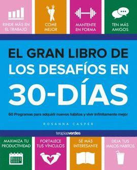 GRAN LIBRO DE LOS DESAFÍOS DE 30 DÍAS, EL