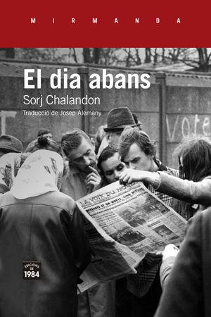 DIA ABANS, EL