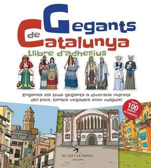 GEGANTS DE CATALUNYA - LLIBRE D'ADHESIUS
